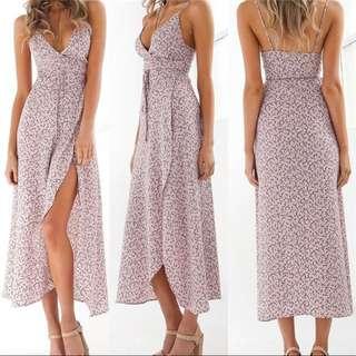 ‼️REPRICED‼️Boho Long Beach Maxi Dress