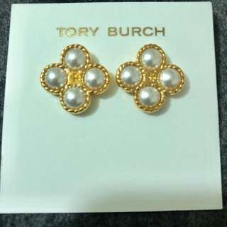 Tory Burch Earrings 4粒珍珠復古耳環