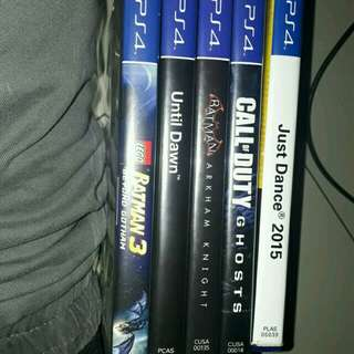 FOR SALE SAMSUNG J7 PRIME AND PS4 GAMES