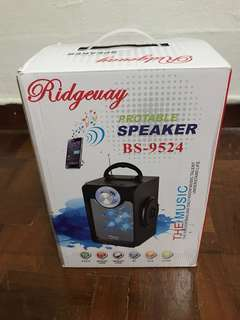 Bluetooth speaker wif FM