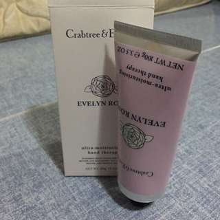Crabtree and Evelyn Hand Cream (Evelyn Rose)
