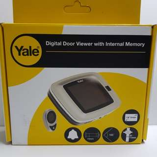 Yale Digital Door Viewer with Internal Memory