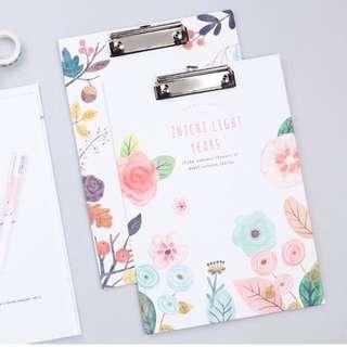 Floral Clip Board (Pre-order)
