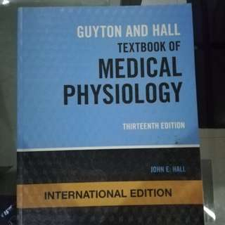 Guyton and Hall Medical Physiology 13th ed