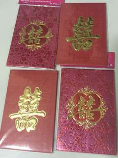 Red Packets for Wedding (Brand New)