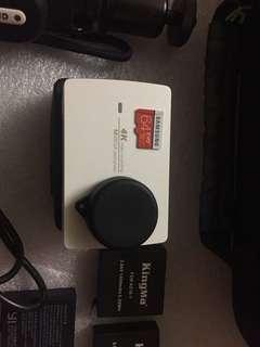 Yi4k action camera paduik