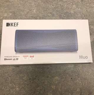 七五折全新原音高清藍芽喇叭KEF MUO