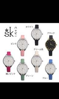 SK bee 3D watch jam tangan wanita fashion murah