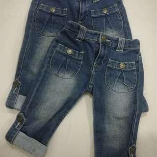 Poney half long jeans