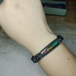 Black Friendship Bracelet