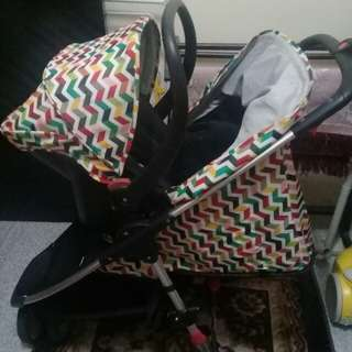 Sweet Cherry stroller set