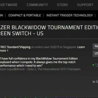 Razor blackwidower TE v2