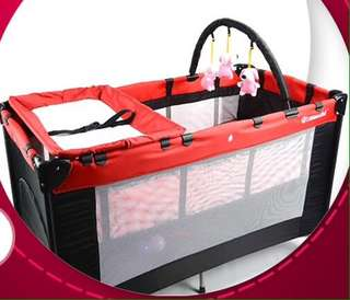 O Machi Playpen + Papa shield bag