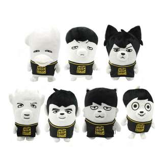 BTS HIP HOP MONSTER DOLL
