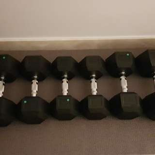 Gym Dumbell, Weights 10kg - 25kg