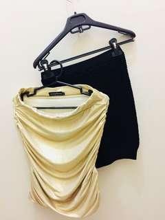 Bondage Skirt Set