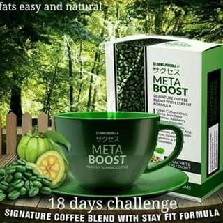 Metaboost Coffee - Fat Burner