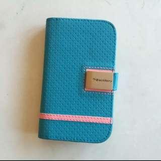 Blue Pinky Cover Casing Blackberry Q5 (model SQR100-3)