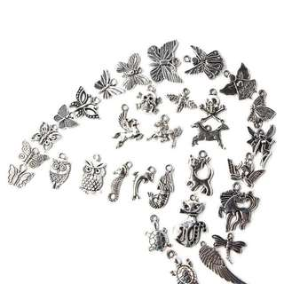 (Preorder) 100pcs DIY Pendants
