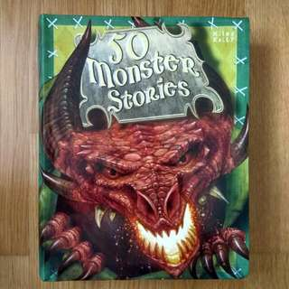 50 monster stories good condition $9.90