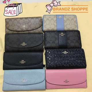 👑👑👑BEST DEAL!!! Coach Wallet / Purse Series For HiM / HeR (ALL READY STOCK)