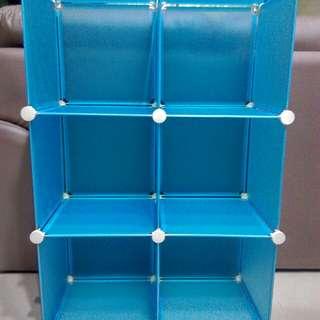 6格DIY組合櫃收納櫃
