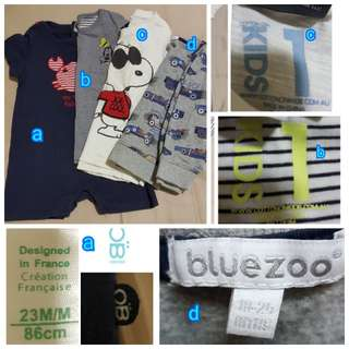 Boy's shirts (2 yo)