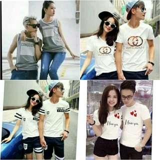 Tee shirt couple/tee shirt/korea fashion
