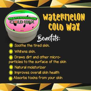 Watermelon Cold Wax