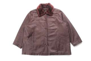 Classic 70's Leather Sherpa