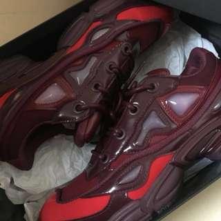 Adidas x Raf Simons Burgundy Red 全新