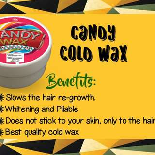 Candy Cold Wax