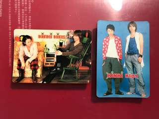 Kinki kids yes card 堂本光一 堂本剛
