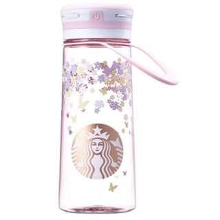 韓國Starbucks櫻花系列LED發光水壺600mL
