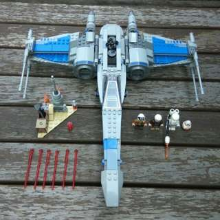 Lego 75149 Resistance X-Wing Fighter Star Wars