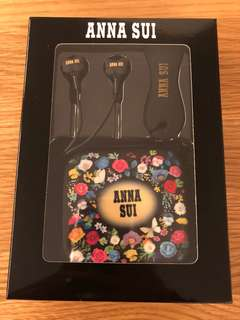 全新正品 Anna Sui 耳機套裝
