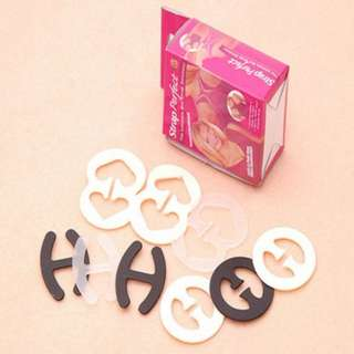 7pcs Bra Strap Clips Solution Perfect Conceal Tops