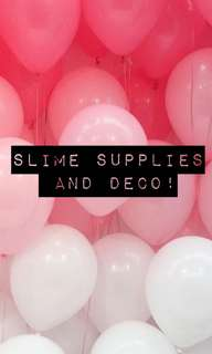 slime supplies/deco