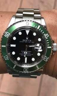 (RESERVED)Rolex Kermit 16610LV