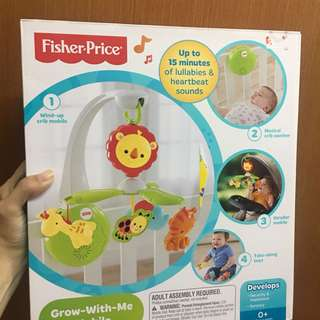 Fisher Price Grow with Mobile new