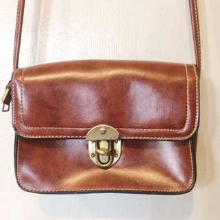 Mini satchel crossbody sling bag