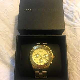 MARC By Marc Jacobs Yellow Gold Watch