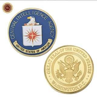 CIA commemorative coin - ex CIA officers