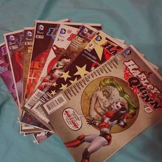 Harley Quinn(New 52) #0 - #7, #12 and Future's End #1