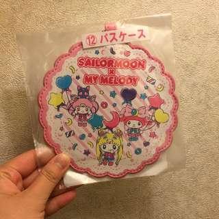 Japan Tokyo Sanrio Sailor Moon x My Melody Pass Holder 証件套