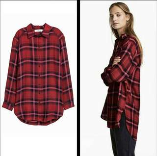 H&M L.O.G.G Flanel Dress