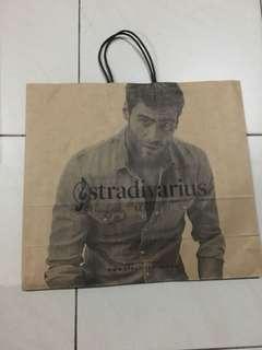 Stradivarius Paper Bag