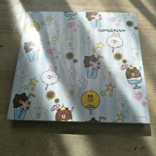 Notebook cony and brown