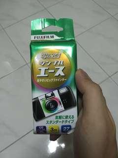 Fujifilm disposable film camera