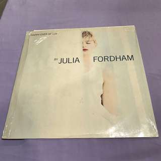 "Julia Fordham -Happy Ever After 12"" Single"